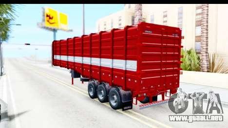 Trailer Cargo para GTA San Andreas left