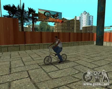New HD Glen Park para GTA San Andreas sucesivamente de pantalla