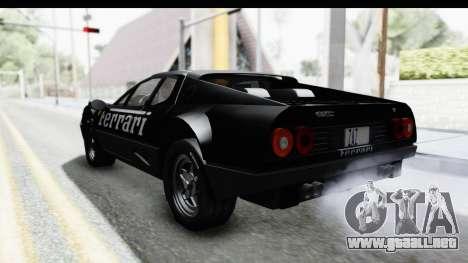 Ferrari 512 GT4 BB 1976 para el motor de GTA San Andreas