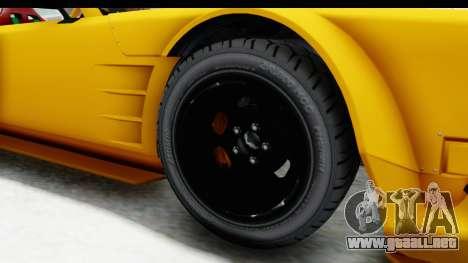 GTA 5 Declasse Drift Tampa para GTA San Andreas vista hacia atrás