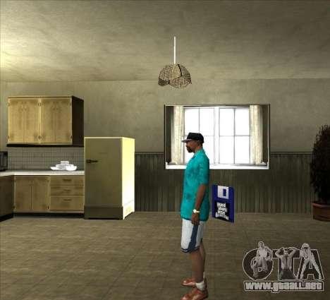 Camisa Tommy para GTA San Andreas tercera pantalla