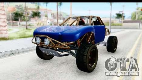 GTA 5 Trophy Truck IVF PJ para la visión correcta GTA San Andreas