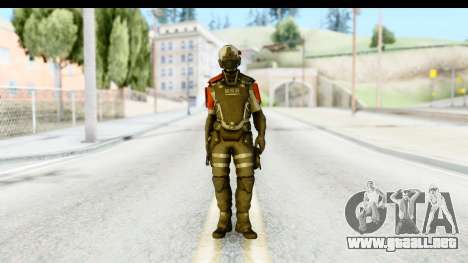Homefront The Revolution - KPA v1 Original para GTA San Andreas segunda pantalla