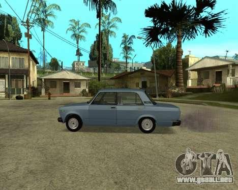 VAZ 2107 Armenian para visión interna GTA San Andreas