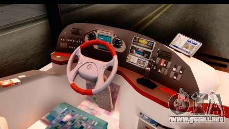 Mercedes-Benz Travego para visión interna GTA San Andreas