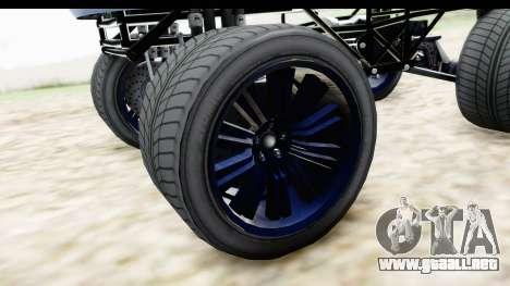 GTA 5 Enus Cognoscenti XL para GTA San Andreas vista hacia atrás