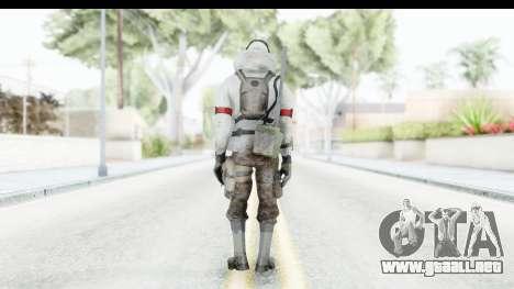 The Division Last Man Battalion - Leader para GTA San Andreas tercera pantalla