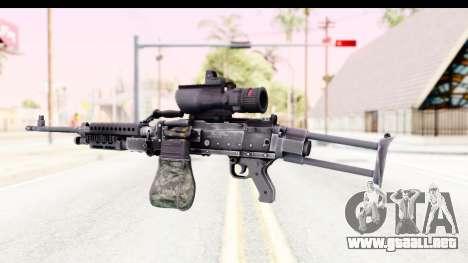 M240 FSK No Bipod para GTA San Andreas segunda pantalla