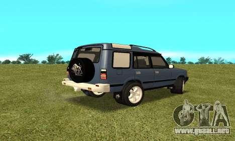 Land Rover Discovery 2B para GTA San Andreas left