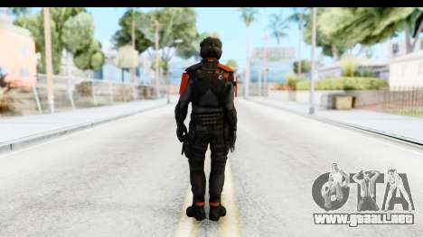 Homefront The Revolution - KPA v4 Black para GTA San Andreas tercera pantalla