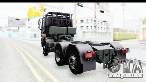 Tatra Phoenix 6x2 Agro Truck v1.0 para GTA San Andreas vista posterior izquierda