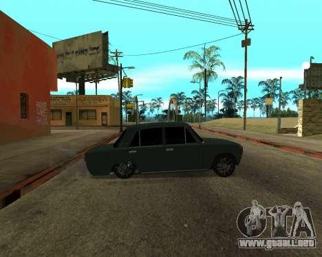 VAZ 2101 Armenian para visión interna GTA San Andreas