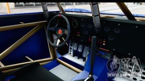 GTA 5 Trophy Truck IVF PJ para visión interna GTA San Andreas