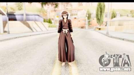 Bleach - Rukia para GTA San Andreas segunda pantalla