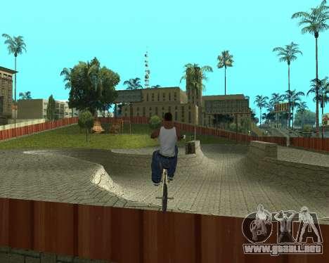 New HD Glen Park para GTA San Andreas segunda pantalla