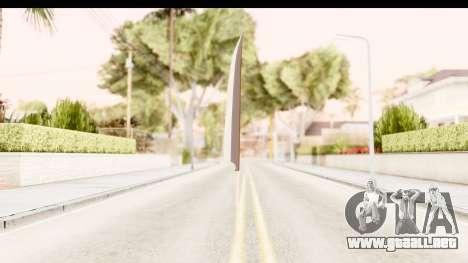 Bleach - Ichigo Weapon para GTA San Andreas tercera pantalla