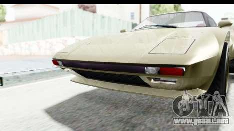 GTA 5 Lampadati Tropos Rallye IVF para la vista superior GTA San Andreas