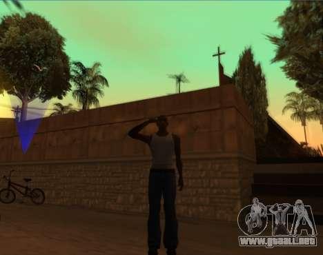 Saludo para GTA San Andreas tercera pantalla