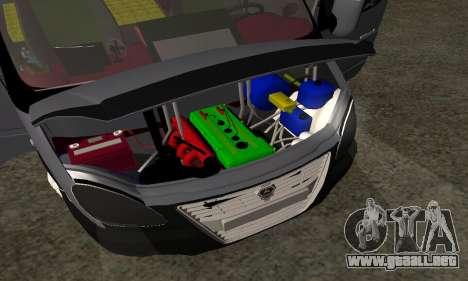 GAZelle 33023 Agricultor para GTA San Andreas interior