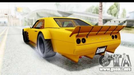 GTA 5 Declasse Drift Tampa para GTA San Andreas left