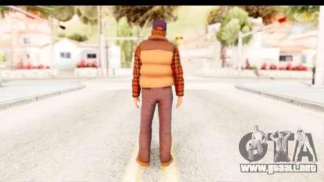 Silent Hill Homecoming - Travis para GTA San Andreas tercera pantalla