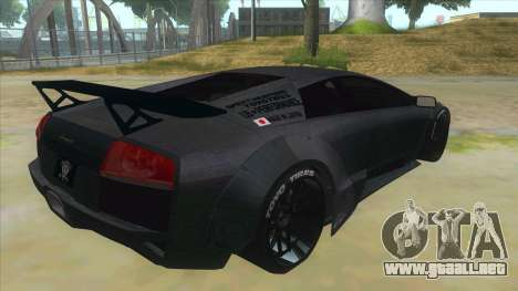 Lamborghini Liberty Walk para la visión correcta GTA San Andreas