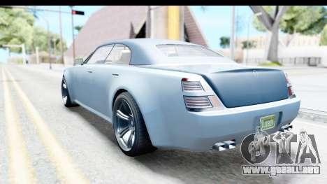 GTA 5 Enus Windsor Drop IVF para GTA San Andreas left