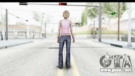 Silent Hill 3 - Heather Sporty Light Pink HK para GTA San Andreas tercera pantalla