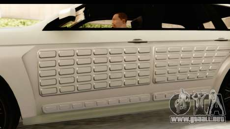 GTA 5 Benefactor XLS IVF para vista lateral GTA San Andreas