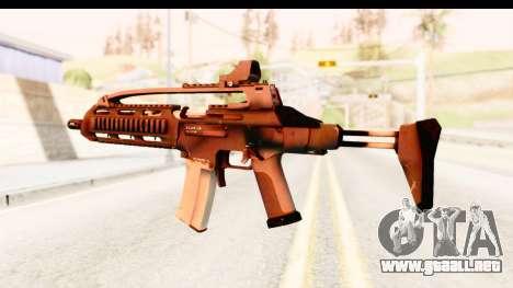 SCAR-LK para GTA San Andreas tercera pantalla