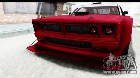 GTA 5 Declasse Drift Tampa IVF para vista inferior GTA San Andreas