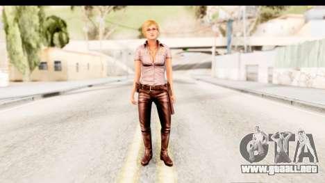 Silent Hill Shattered Memories - Cybil para GTA San Andreas segunda pantalla