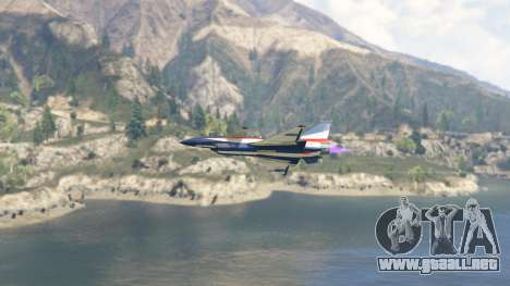 GTA 5 J-10A SY Aerobatic Team sexta captura de pantalla