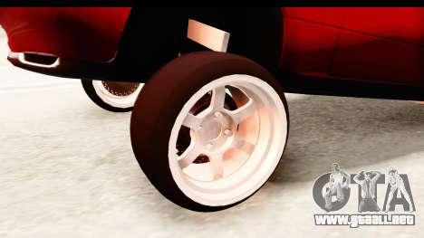 Mazda Miata with Crazy Camber para GTA San Andreas vista hacia atrás