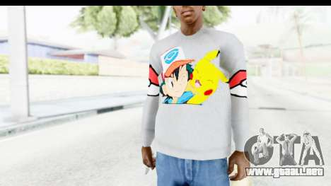 Sweat Pokemon Go Pikachu para GTA San Andreas