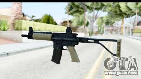 LR-300 Tan para GTA San Andreas segunda pantalla