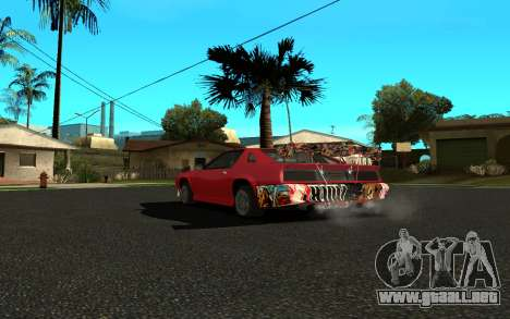 Buffalo (Tunning) para GTA San Andreas left