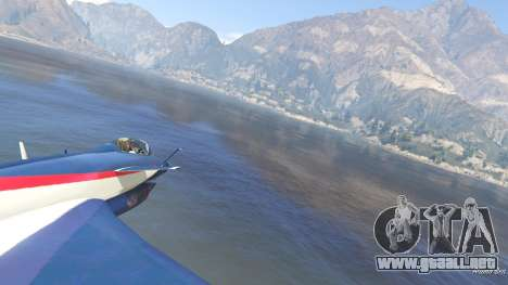 GTA 5 J-10A SY Aerobatic Team quinta captura de pantalla