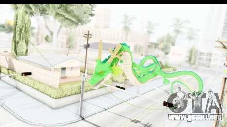 Shenron from Dragon Ball Xenoverse para GTA San Andreas tercera pantalla