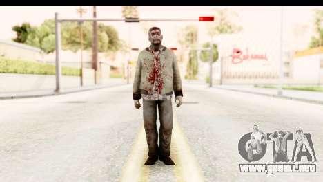 Left 4 Dead 2 - Zombie Rural para GTA San Andreas segunda pantalla