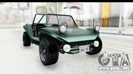 GTA 5 BF Bifta v2 SA Style para GTA San Andreas