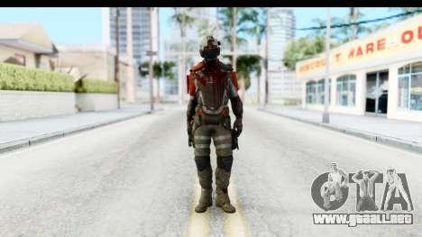Homefront The Revolution - KPA v3 Dead para GTA San Andreas segunda pantalla