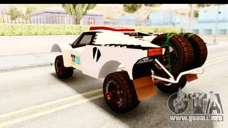 GTA 5 Desert Raid SA Lights para GTA San Andreas interior