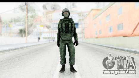 Global Warfare Russia para GTA San Andreas segunda pantalla