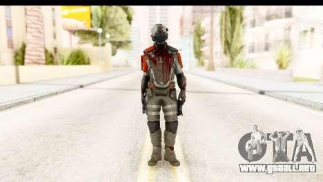 Homefront The Revolution - KPA v5 Dead para GTA San Andreas segunda pantalla