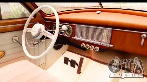 Packard Standart Eight 1948 Touring Sedan para visión interna GTA San Andreas