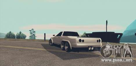 Elegy Ibragim para visión interna GTA San Andreas