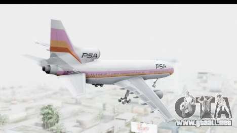 Lockheed L-1011-100 TriStar Pacific Southwest para la visión correcta GTA San Andreas