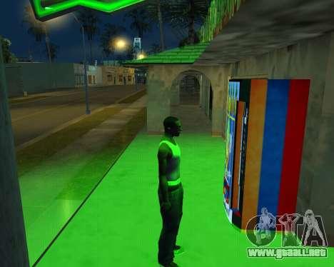 Nueva automática de Heno-Cola y la Bandera de ar para GTA San Andreas sucesivamente de pantalla