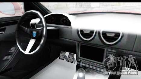 GTA 5 Grotti Bestia GTS with MipMap IVF para visión interna GTA San Andreas